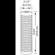 """3M™ Aqua-Pure™ AP110 mélységi 10"""" magas szűrőházba, 5 mikronos szűrőbetét"""